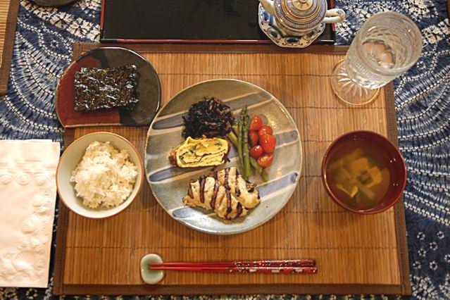 Serving an authentic Japanese Breakfast